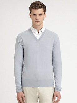 Burberry London - Barnett V-Neck Sweater