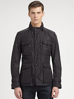 Burberry London - Printed Nylon Field Jacket