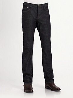 Burberry Brit - Straight-Leg Stretch Denim Jeans