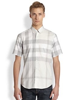 Burberry Brit - Fred Exploded Check Short-Sleeve Sportshirt