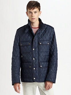 Burberry Brit - Quilted Field Jacket