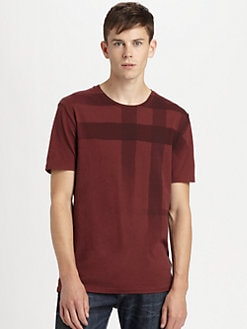 Burberry Brit - Check Graphic Tee