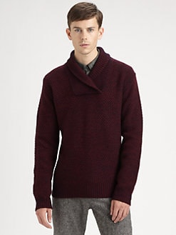 Burberry Brit - Shawl-Collar Sweater