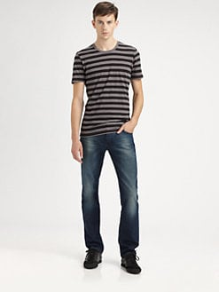 Burberry Brit - Stripe Cotton Tee
