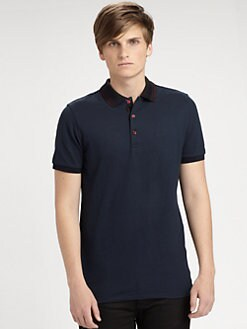 Burberry London - Adler Jersey Polo Shirt