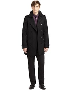 Burberry London - Britton Rainwear Trenchcoat
