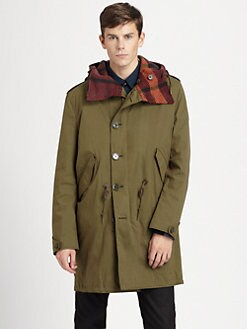 Burberry Brit - Hooded Stadium Coat