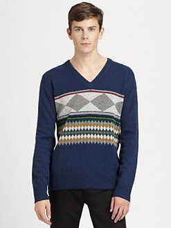 Burberry Brit - Nordic Wool Pullover Sweater