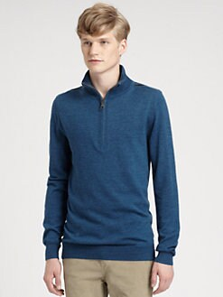 Burberry Brit - Half-Zip Sweater