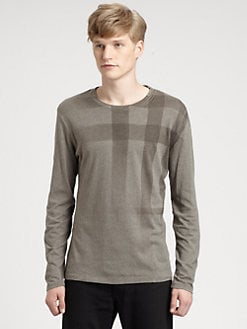 Burberry Brit - Check Print Tee