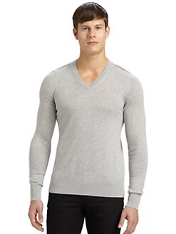 Burberry Brit - V-Neck Sweater