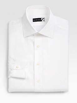 Saks Fifth Avenue Men's Collection - Twill Dress Shirt
