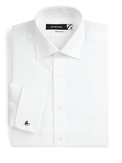 Saks Fifth Avenue Men's Collection - Cotton Dress Shirt