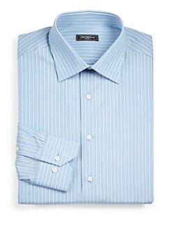 Saks Fifth Avenue Men's Collection - Striped Dress Shirt