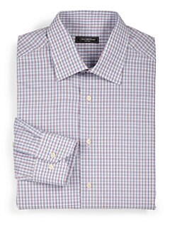 Saks Fifth Avenue Men's Collection - Plaid Dress Shirt