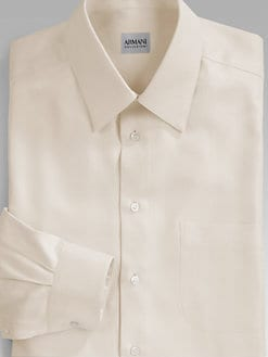 Armani Collezioni - Twill Dress Shirt