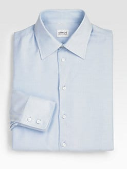 Armani Collezioni - Textured Dress Shirt