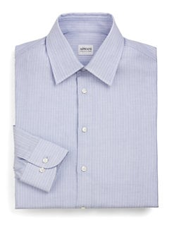 Armani Collezioni - Fine Stripe Oxford Shirt
