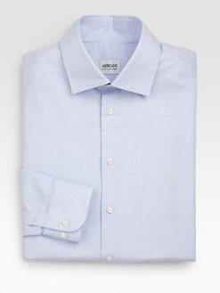 Armani Collezioni - Check Dress Shirt