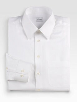 Armani Collezioni - French-Cuff Dress Shirt