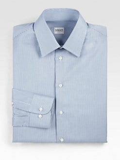 Armani Collezioni - Fine Striped Dress Shirt