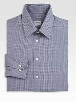 Armani Collezioni - Houndstooth Dress Shirt