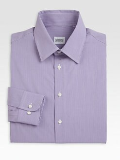 Armani Collezioni - Gingham Dress Shirt