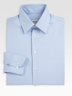 Armani Collezioni - Mini Houndstooth Dress Shirt