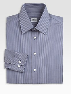 Armani Collezioni - Striped Dress Shirt