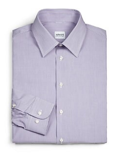 Armani Collezioni - Narrow Stripe Dress Shirt