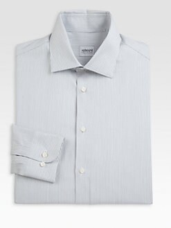 Armani Collezioni - Thin Striped Dress Shirt