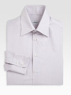 Armani Collezioni - Narrow Double Stripe Dress Shirt