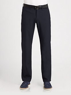 Armani Collezioni - Seersucker Stripe Pants