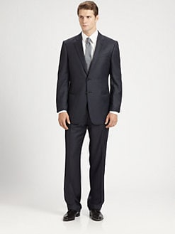 Armani Collezioni - Thin Striped Giorgio Model Suit