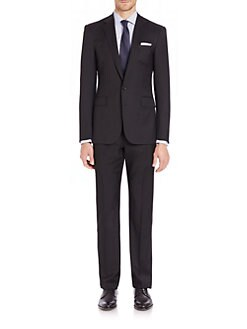 Ralph Lauren Black Label - Anthony Wool Gabardine  Suit