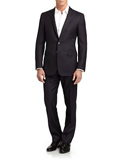 Ralph Lauren Black Label - Anthony Wool Pinstripe Suit