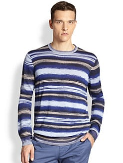 Armani Collezioni - Horizontal Brush Stroke Sweater