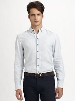 Armani Collezioni - Striped Sportshirt