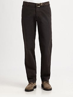 Armani Collezioni - Cotton Chino Pant