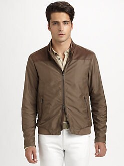 Armani Collezioni - Banded Bomber