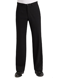 Armani Collezioni - Wool Stretch Trousers
