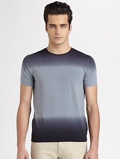 Armani Collezioni - Ombre Crewneck Tee