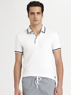 Armani Collezioni - Contrast Pique Polo