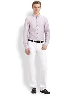 Armani Collezioni - Cotton Dress Shirt