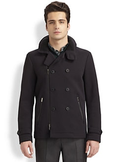 Armani Collezioni - Neoprene Peacoat