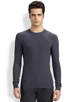Armani Collezioni - Block-Patterned Sweater