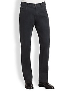 Armani Collezioni - Straight-Leg Jeans