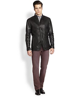 Armani Collezioni - Leather Jacket