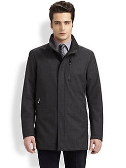 Armani Collezioni - Tailored Raincoat