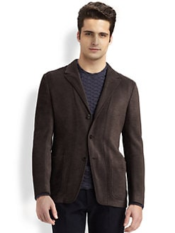 Armani Collezioni - Knit Blazer